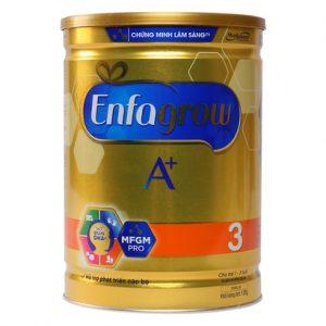 Sữa Enfagrow A+ 3 360 Brain DHA+ và MFGM Pro