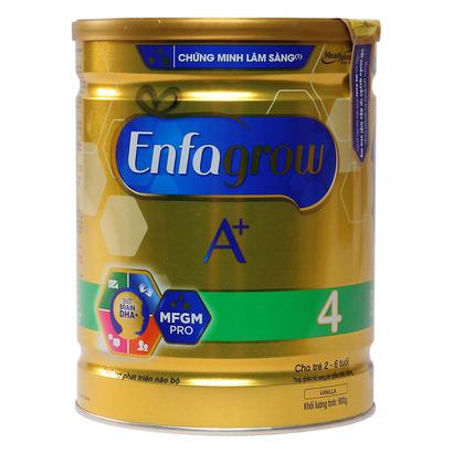 Sữa Enfagrow A+ 4 360 Brain DHA+ và MFGM Pro