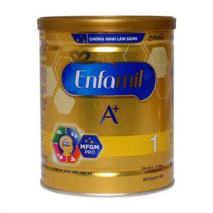 Sữa Enfamil A+ 1 360 Brain DHA+ và MFGM Pro