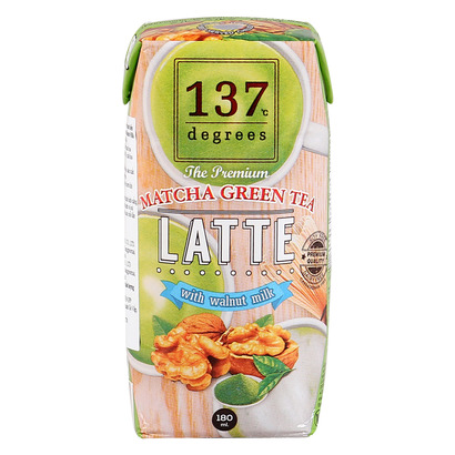 Sữa Hạt Óc Chó 137 Degrees Vị Trà Xanh
