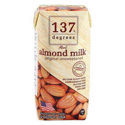 Sữa Hạt Hạnh Nhân 137 Degrees Không Đường