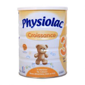 Sữa Physiolac Croissance Số 3