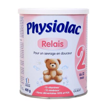Sữa Physiolac Relais Số 2