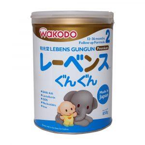 Sữa Wakodo Lebens Gungun Số 2