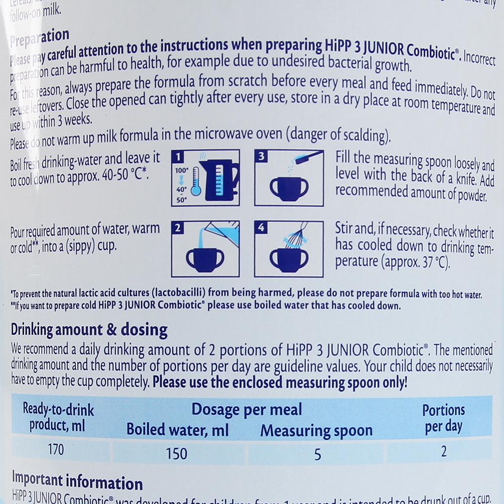 Sữa HiPP Combiotic Organic Số 3