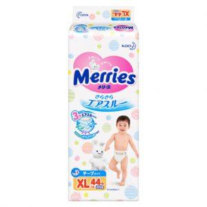 BỈM - TÃ DÁN MERRIES SIZE XL