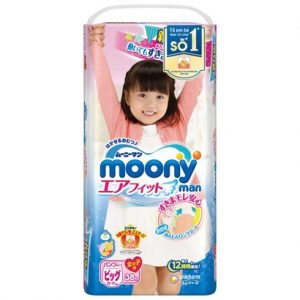 Bỉm - Tã quần Moony man size XL
