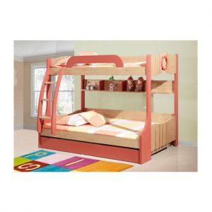 Bộ giường ngủ kèm giá sách, BH, tủ đồ
