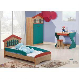 Bộ giường ngủ, tủ quần áo, bàn học kèm ghế ngồi