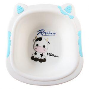 Chậu rửa mặt trẻ em Royalcare hình bò sữa