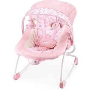 Ghế rung bập bênh Mastela màu hồng 6905