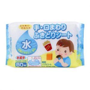 Giấy ướt nước tinh khiết Nhật Bản 80 tờ