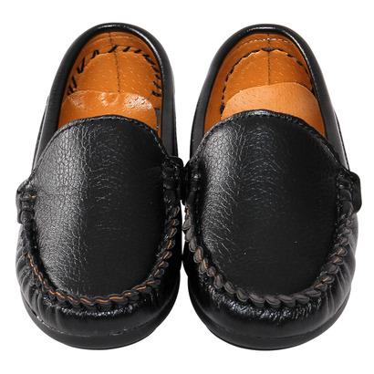 Giày da lười Bibo's bé trai caro màu nâu