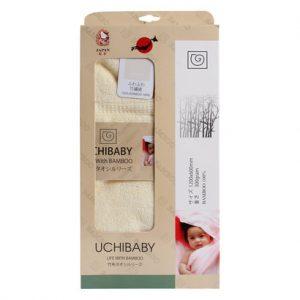 Hộp khăn tắm sợi tre Uchibaby 60 x 120 cm