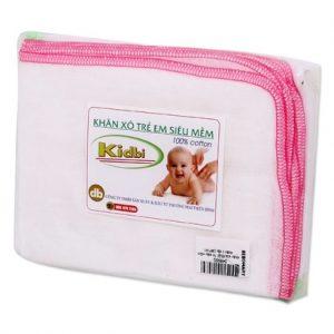 Khăn sữa Nhật trẻ em siêu mềm Kidbi 3 lớp