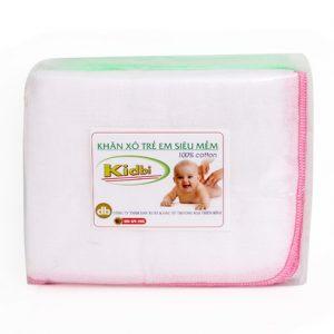 Khăn sữa Nhật trẻ em siêu mềm Kidbi 4 lớp