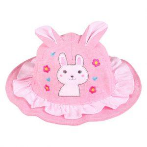 Mũ Bo vành bé gái tai thỏ