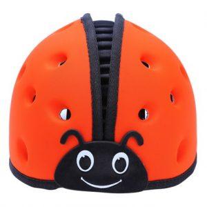 Mũ bảo hiểm trẻ em MumGuard màu cam