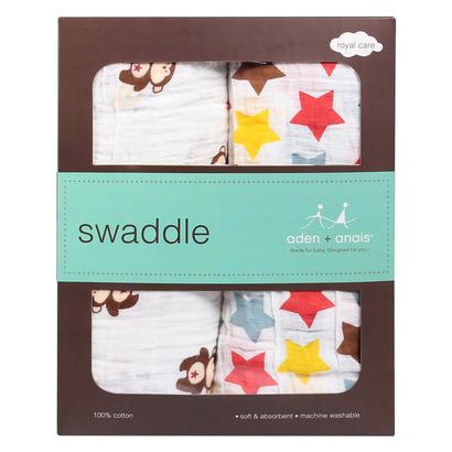 Set 2 khăn xô tắm Aden Anais